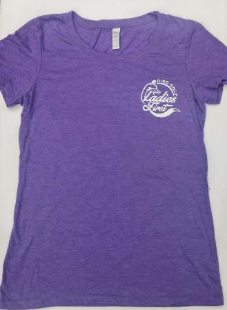 Front of Ladies First Super Soft Cotton tee