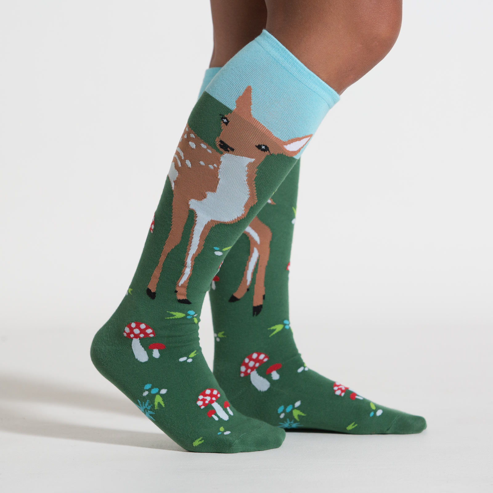 Women's Knee High Socks with Fawn