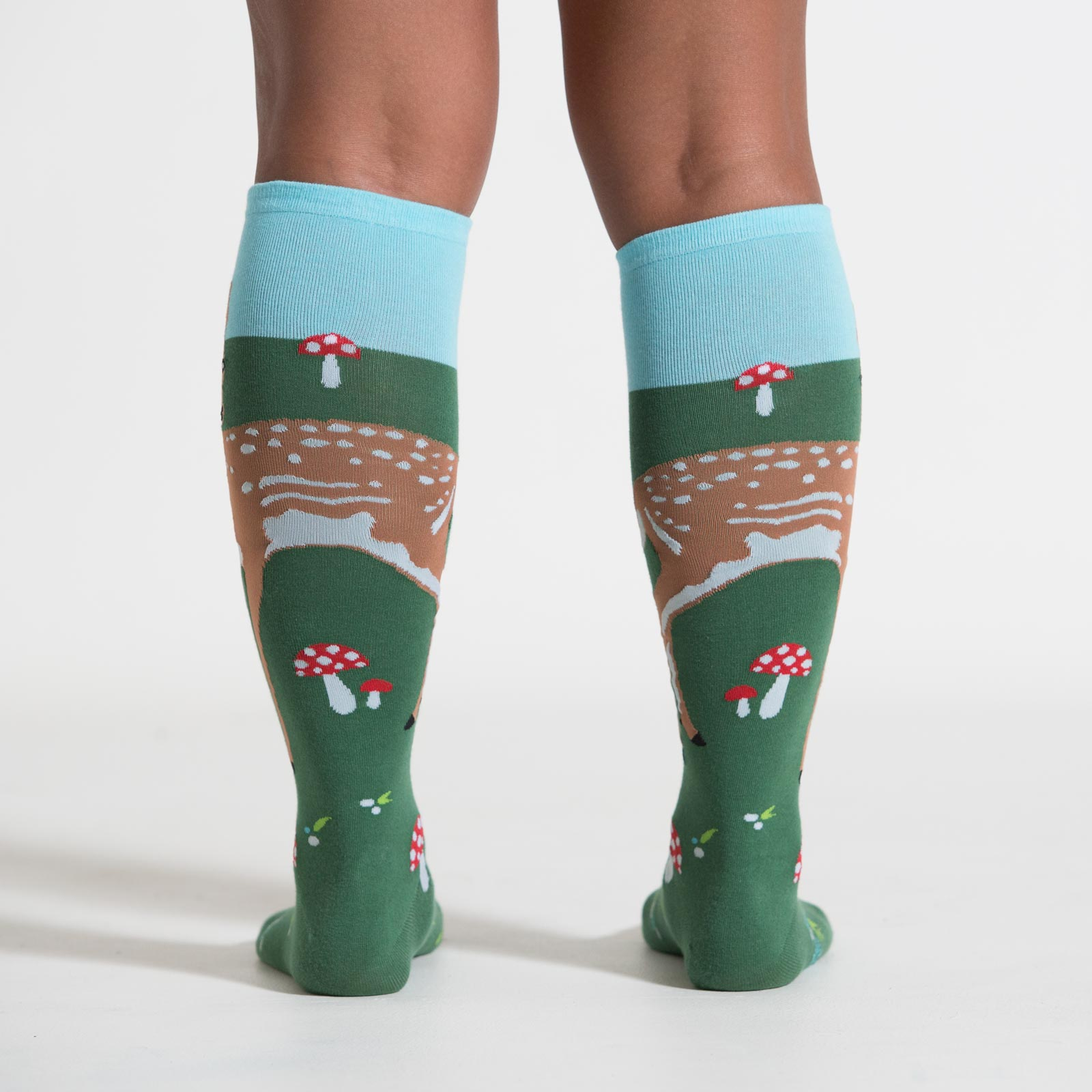 Women's Knee High Socks Fawn Back