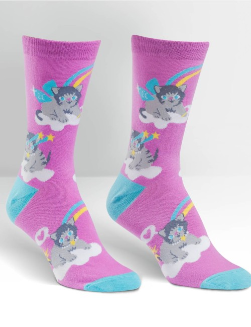 Disc Golf and Cat Lover Socks