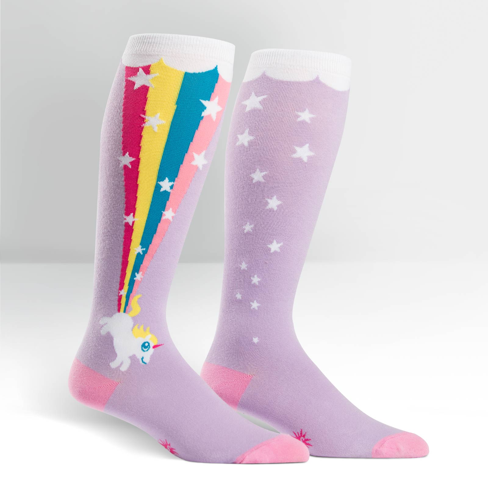 Unicorn Blast Stretchy Socks