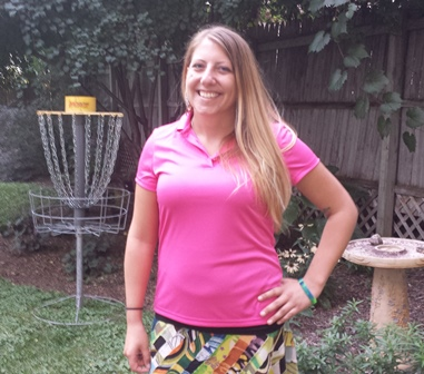 womens disc golf polo