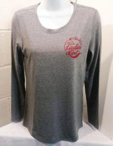 Grey Long Sleeve Disc Golf Top